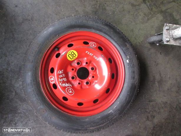Roda Suplente RODS12 FIAT / UNO / 60 MM / 4X98 / T135/80/14 / FIAT / PUNTO / 60MM / 4X98 / 135-80-14 /