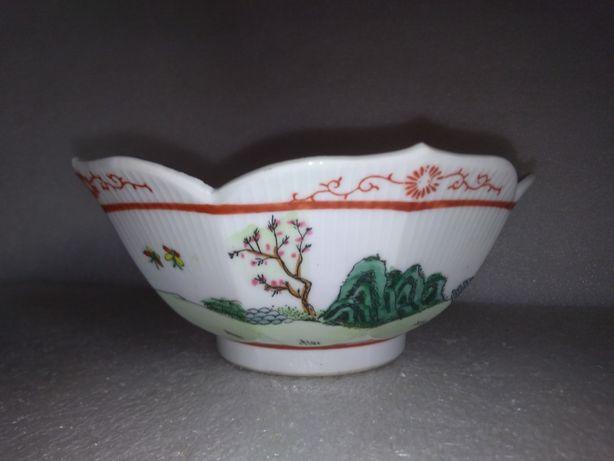 Antiga Taça Porcelana Chinesa