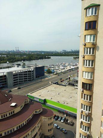 Видовая 3-х ком квартира Днепровская набережная 23