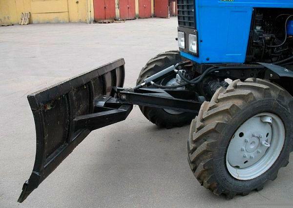 Отвал лопата на трактор ЮМЗ, МТЗ 80, 82, 892 с НДС