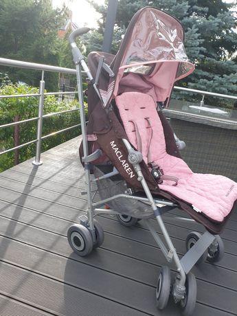 Wózek Maclaren Techno XLR + osłona przeciwdeszczowa