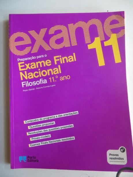 Preparação para o Exame Final Nacional de Filosofia 11º Ano - Porto Ed