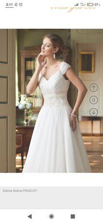 Suknia ślubna frascati