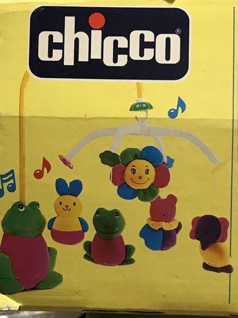 Мобиль вертушка карусель CHICCO на детскую кроватку