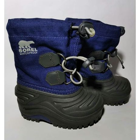 Sorel оригинал размер 20 ботинки сапожки для дождя снега