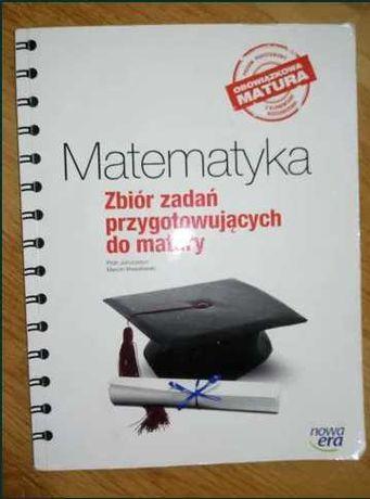 Książka zbiór zadań przygotowujących do matury z matematyki