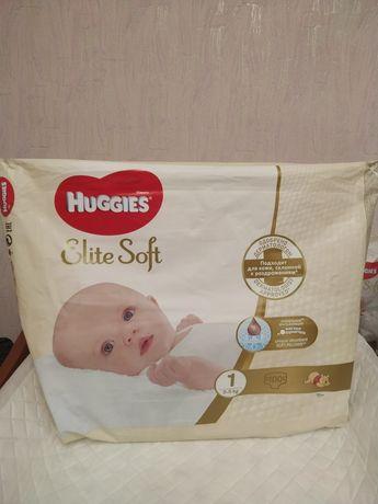 Памперсы Huggies elite soft 1
