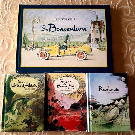 J R R Tolkien - Obras infantis de contos de Tolkien - Edições BRASIL