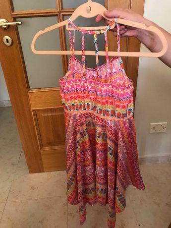 vestido de verão da marca Monsoon (9 anos) - 8 euros