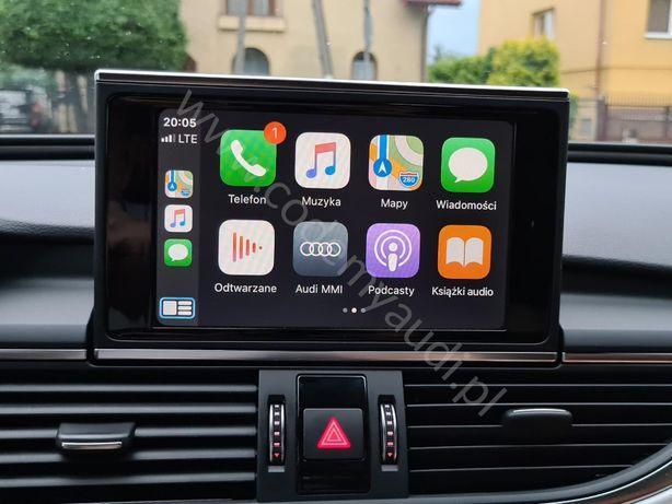 Audi VW Skoda Apple CarPlay Android Auto AppConnect FullLink MAPY MIB2