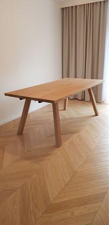 Stół drewniany dębowy rozkladany nowoczesny rustyklany loft