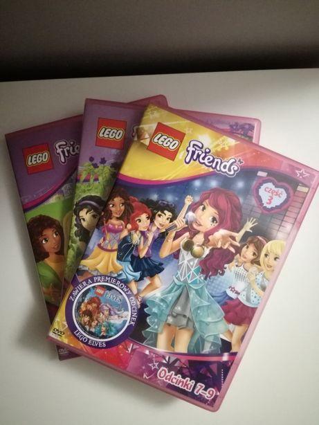 3 płyty DVD Lego friends odcinki 1-9 +gratis Mia i Ja