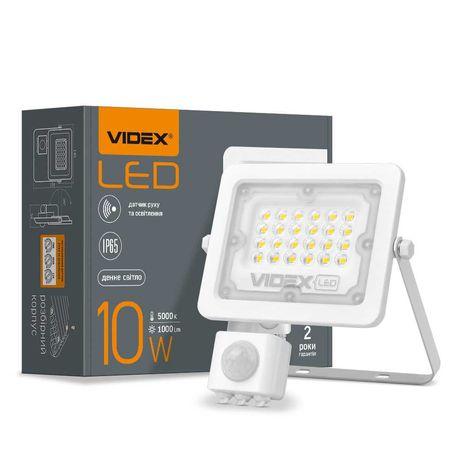 LED прожектор VIDEX 10, 20, 30, 50W з датчиком руху та освітленості
