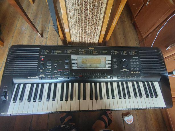 Organy keyboard yamaha psr 630