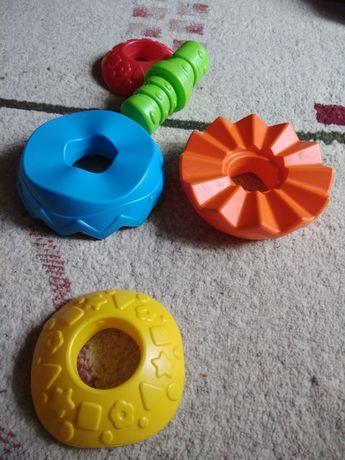 игрушки, конструктор, в подарок носочки-погремушки