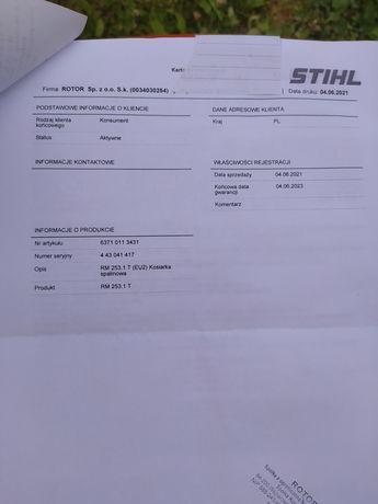 Kosiarka spalinowa stihl RM 253.1 T