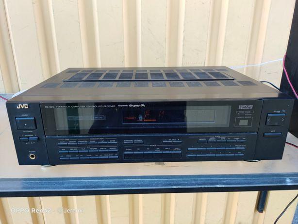 JVC Ekstra Sprawny Vintage Amplituner Audio Stereo RX-501LBK PILOT