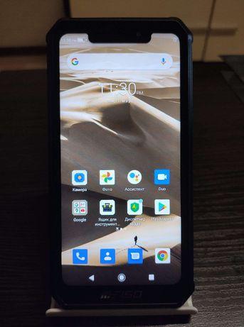Защищенный смартфон Oukitel F150 Bison 6/64 Gb, black, 8000 mAh, NFC