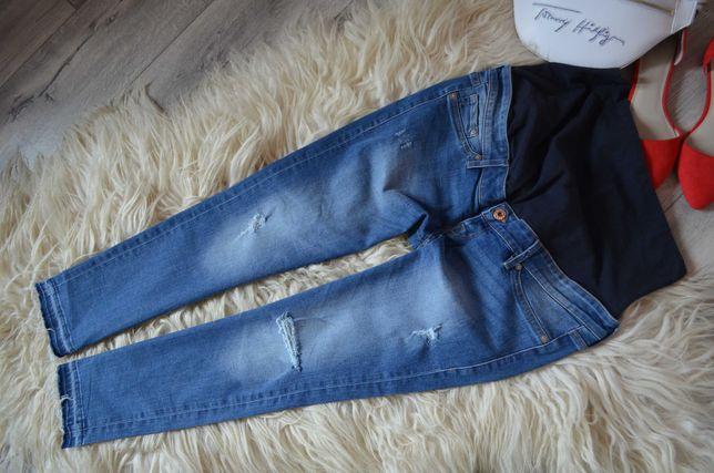 H&M Ciążowe elastyczne rurki skinny 40