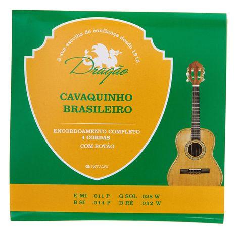 J. Cordas Dragão p/Cavaquinho Brasileiro