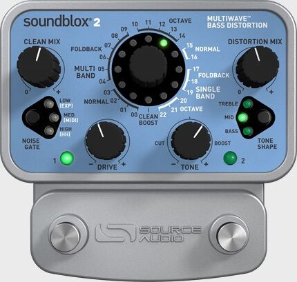 Бас-гитарный процессор эффектов Soundblox 2 Multiwave Bass Distortion
