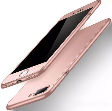 Чехол на Iphone 8 plus/7 plus + стекло