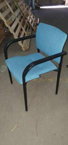 Fotel krzesło konferencyjne biurowe 150szt z podłokietnikami