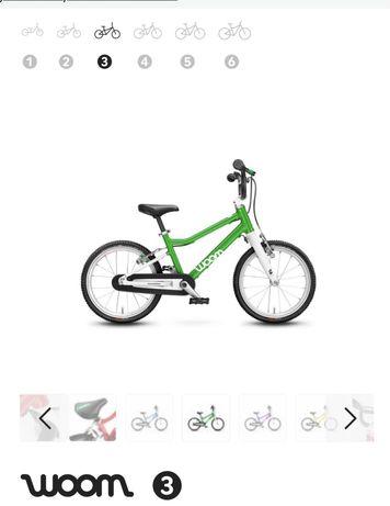 Rower Woom 3 zielony od reki, gwarancja, wysylka