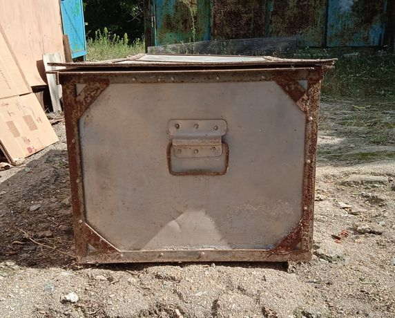 Ящик алюминиевый