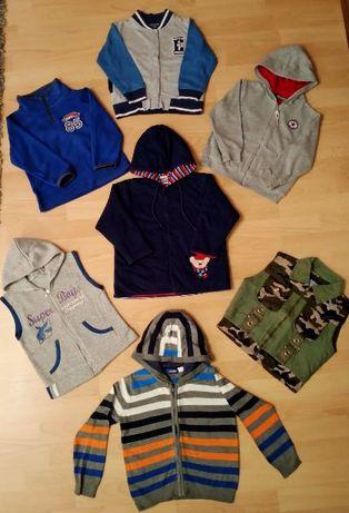Mega duży zestaw używanych ubranek dla chłopca - 88 szt - roz. 98-104