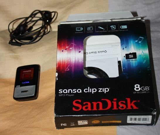 SanDisk Sansa Clip zip 8gb mp3