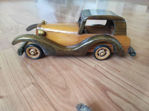Zabytkowy model samochodu