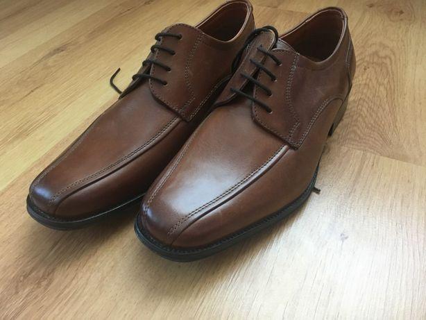 """Кожаные туфли мужские """"Nestor"""" 43 размер"""