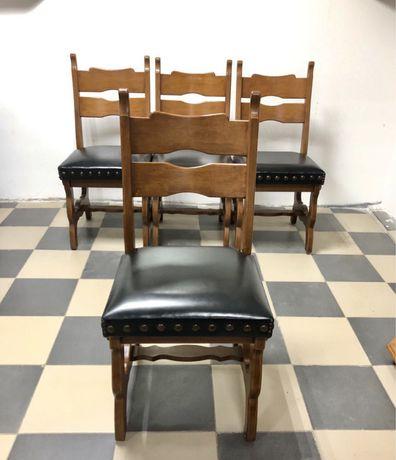 Стулья деревянные сиденье кожа