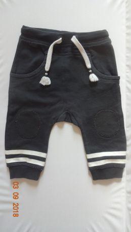Spodnie spodenki dres H&M, 68 cm, stan idealny