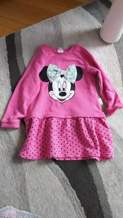 Bluza, sukienka, tunika h&m z myszką minnie r. 86 Ciechanów - image 1