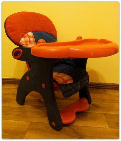 Fotel do karmienia dla dziecka ALICE granatowy używany