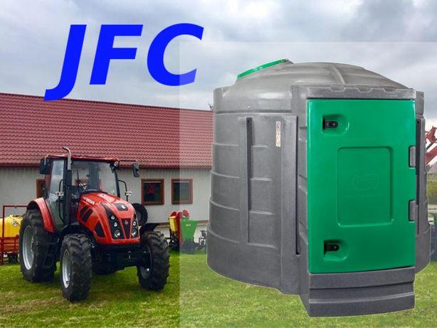 Zbiornik 2500 ltr JFC Gratis OŚWietlenie nowy pompa licznik filtr