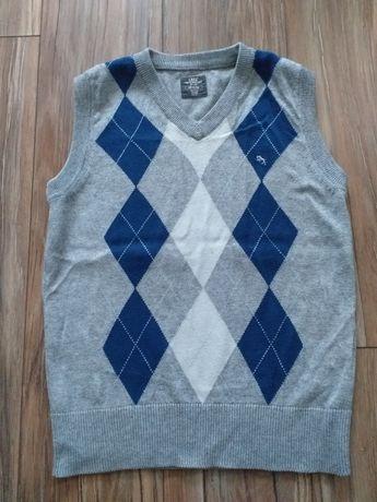 Bezrękawnik sweter H&M rozm.122-128