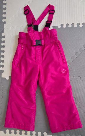 Spodnie narciarskie zimowe Mc Kinley Sucre II kids różowe wzrost 98cm