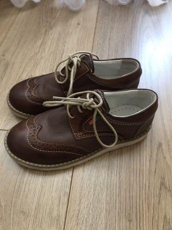 Туфлі, лофери, 30 розмір, шкіра, для хлопчика