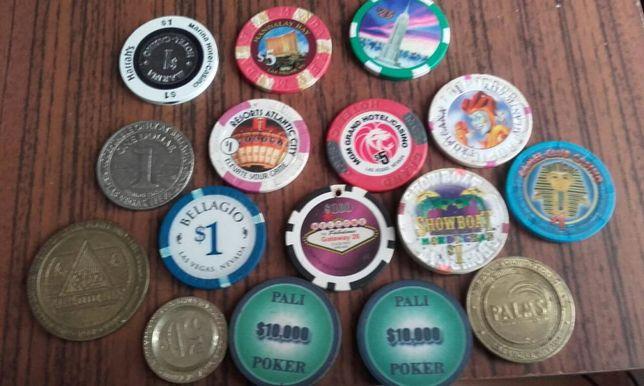 Kolekcja Żetonów do gry z LasVegas