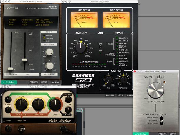 FULL PACZKA - Pluginy VST Klevgr, Softube, AAS Session, D16, XLN Audio