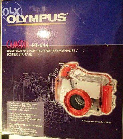 Caixa estanque subaquática Olympus Camedia PT-014