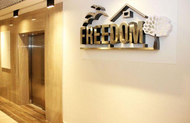 "2 к.кв., 60 м2 с панорамными окнами ЖК ""Freedom"" м. Дарница. КГС"