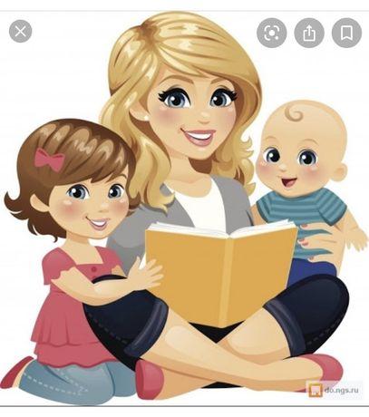 Няня для 2-3 детей у себя на дому. Высоцкого/Атриум 40 грн час