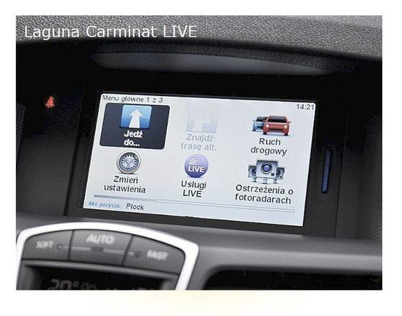 KARTA SD Mapa Tomtom Carminat Live 10.45 2020 Renault