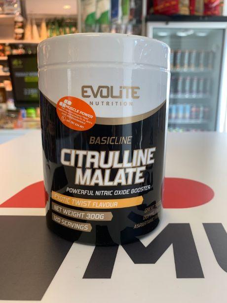 EVOLITE Citrulline Malate - 300g jabłczan cytruliny pompa mięśniowa