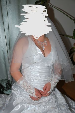 Весільна сукня біла