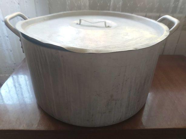 Продам каструлю из алюминия , 40 литров